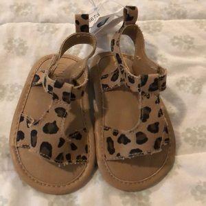 Brand new old navy leopard print sandals